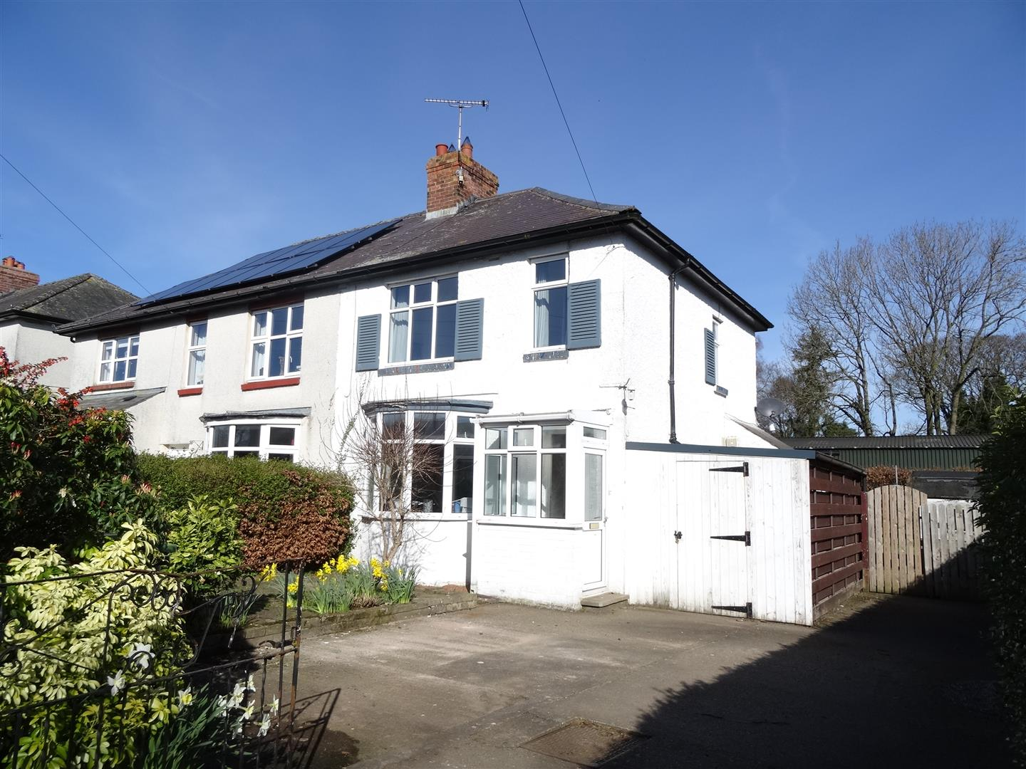 Sunny Croft, 3 Rectory Road Brampton 2 Bedrooms House - Semi-Detached For Sale