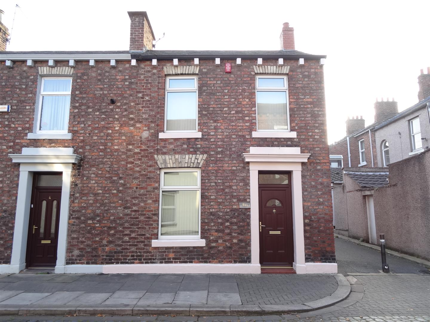 2 Hawick Street Carlisle 2 Bedrooms House - End Terrace For Sale