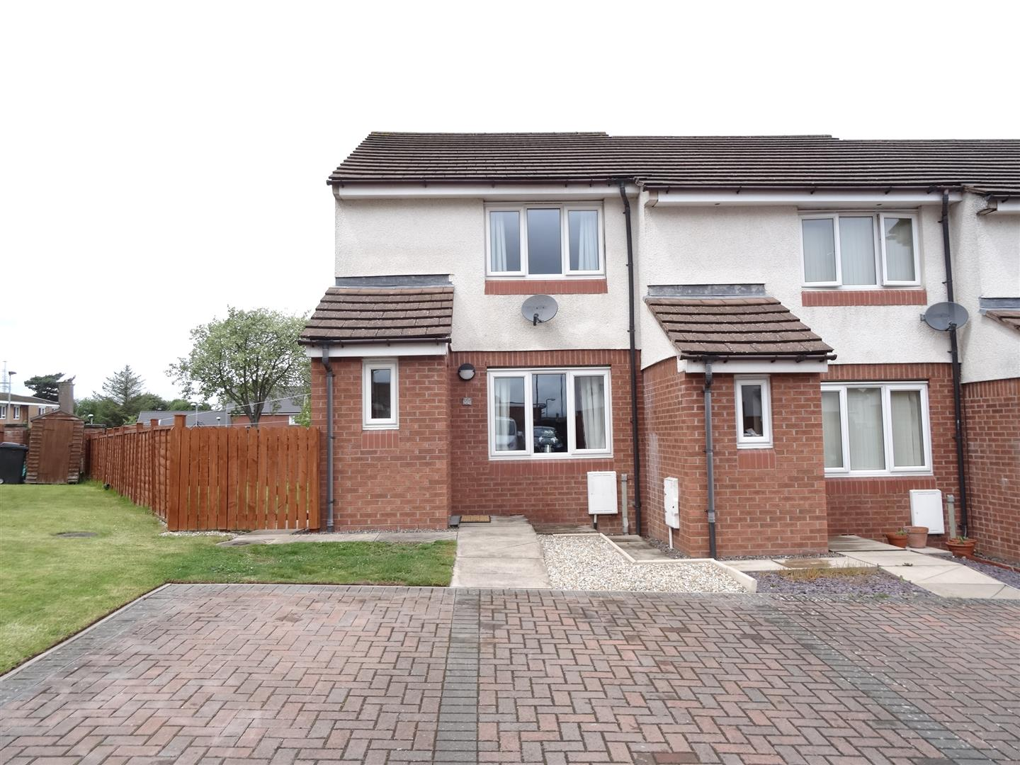 36 Argyll Drive Carlisle 2 Bedrooms House - End Terrace For Sale