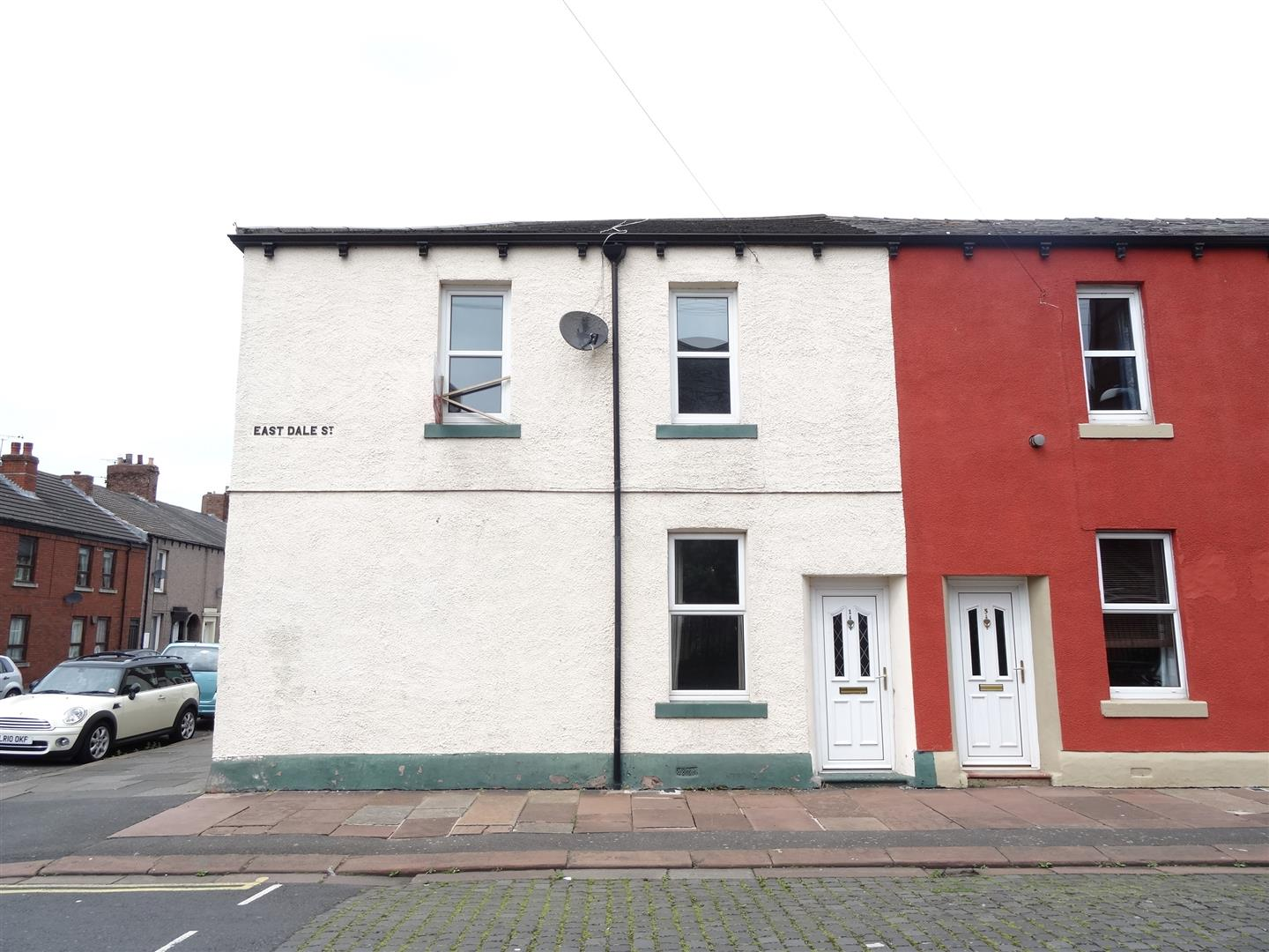 1 East Dale Street Carlisle 2 Bedrooms House - End Terrace For Sale