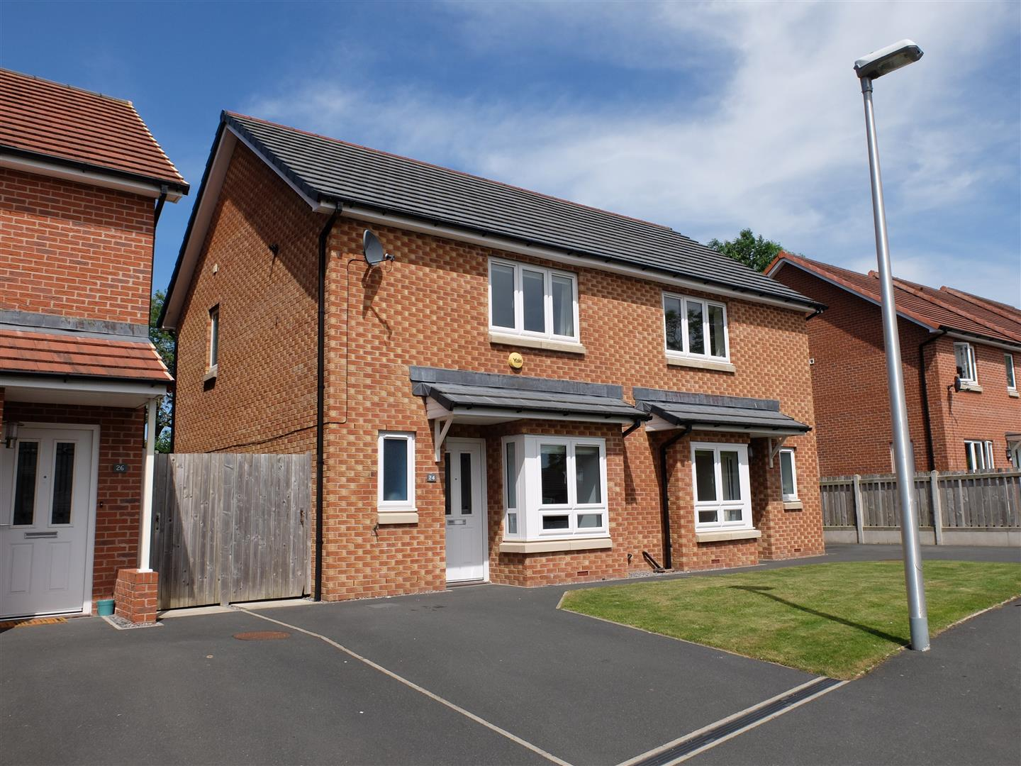 24 Newtown Meadows Carlisle 2 Bedrooms House - Semi-Detached For Sale