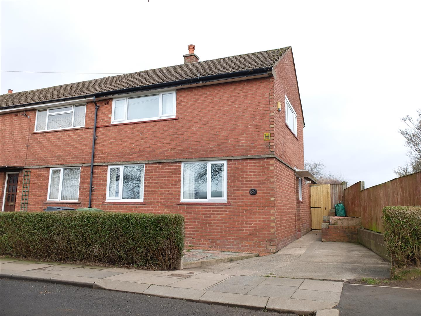 82 Edgehill Road Carlisle 2 Bedrooms House - End Terrace For Sale