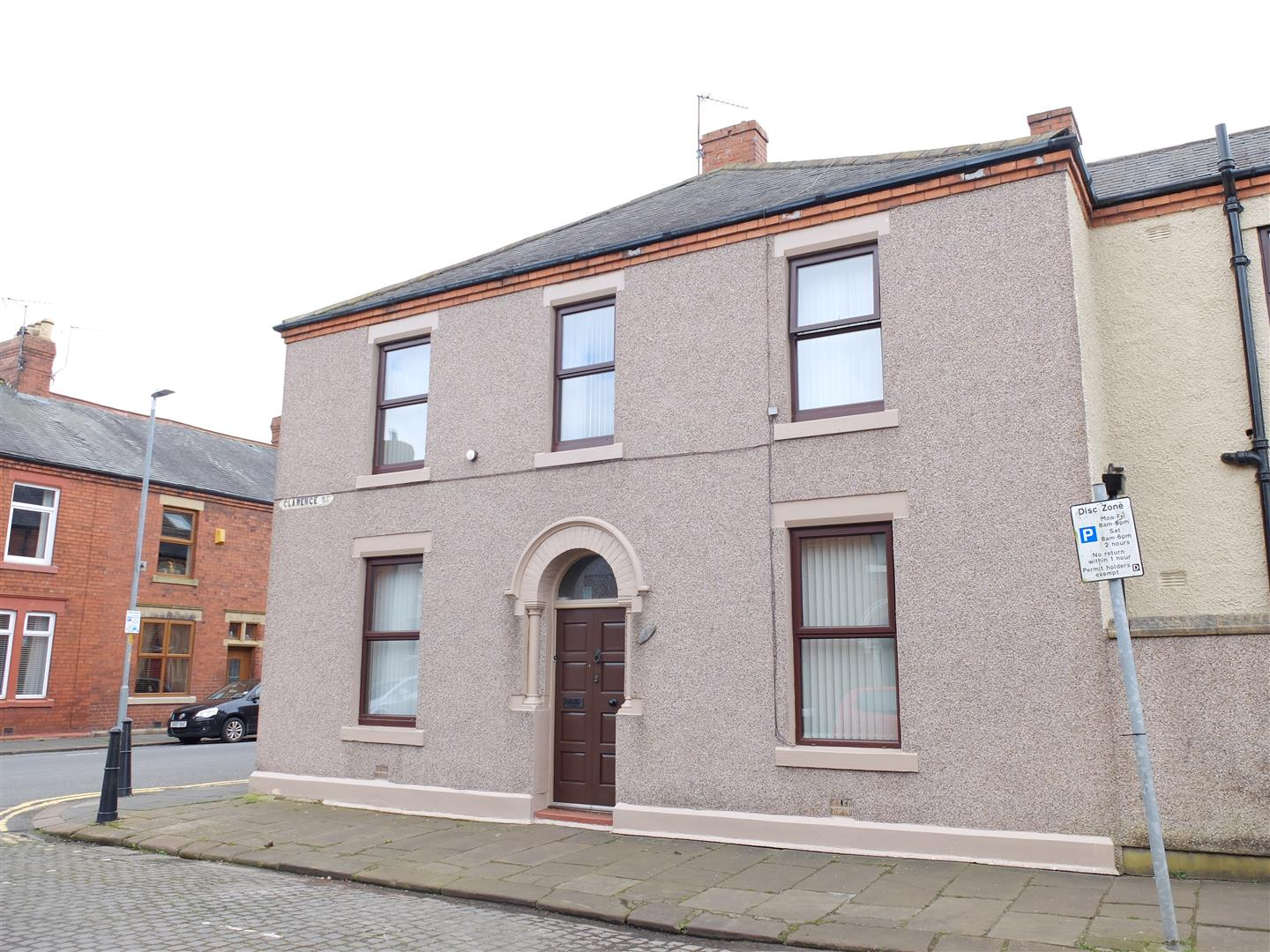 1 Clarence Street Carlisle 3 Bedrooms House - End Terrace For Sale