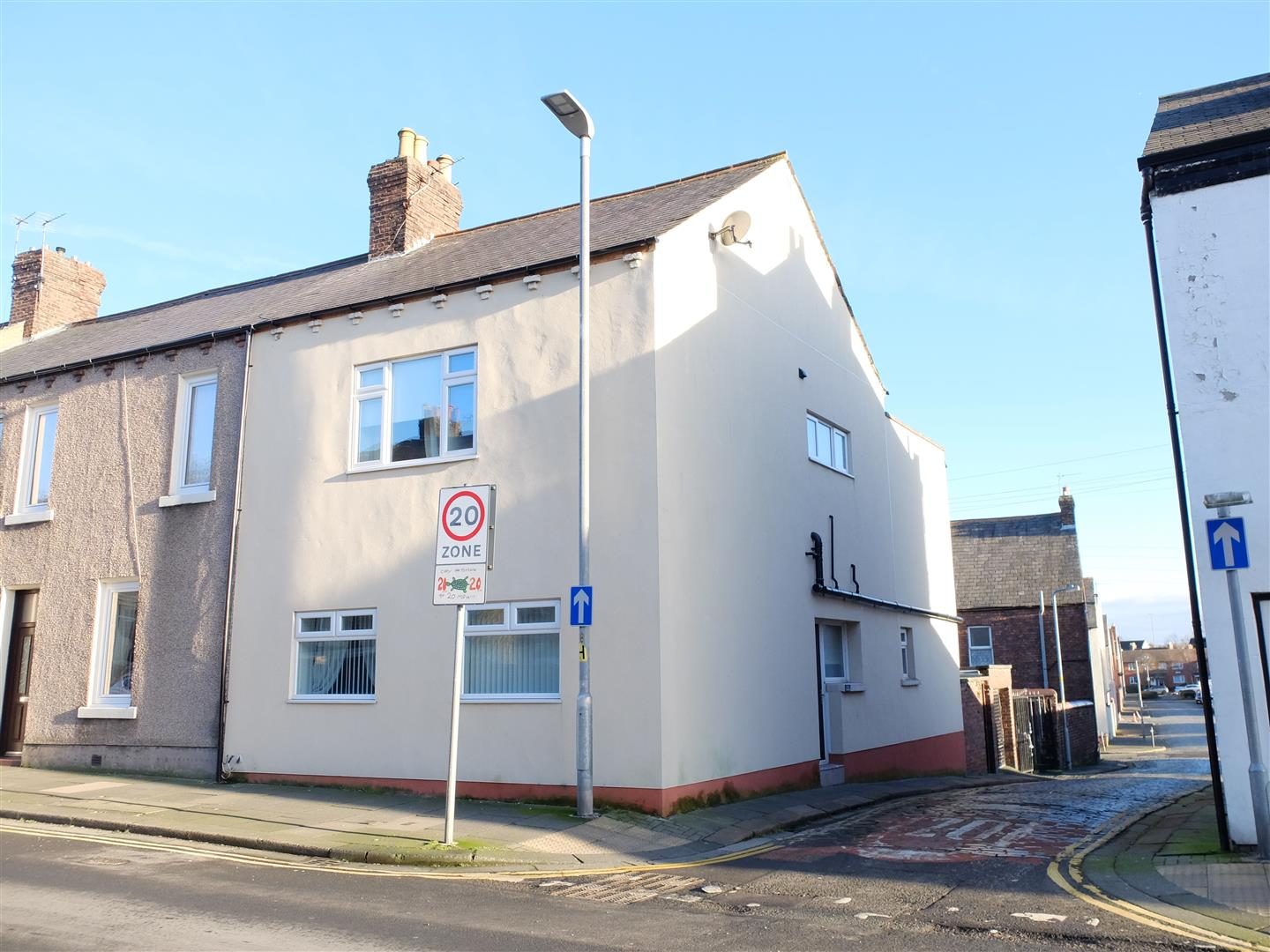 41 Blackwell Road Carlisle 4 Bedrooms House - End Terrace For Sale