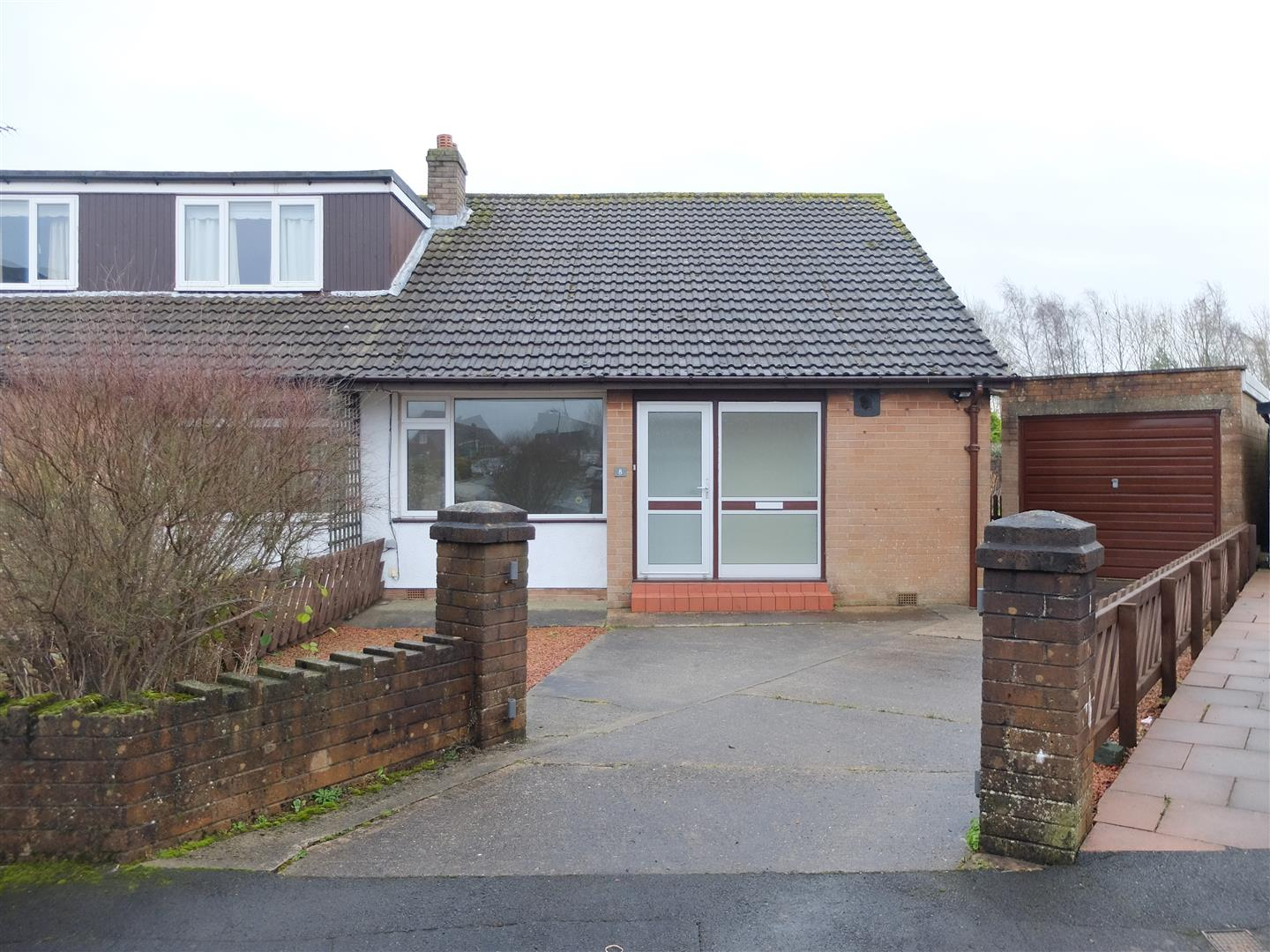 8 South Croft Carlisle 3 Bedrooms Bungalow - Semi Detached For Sale