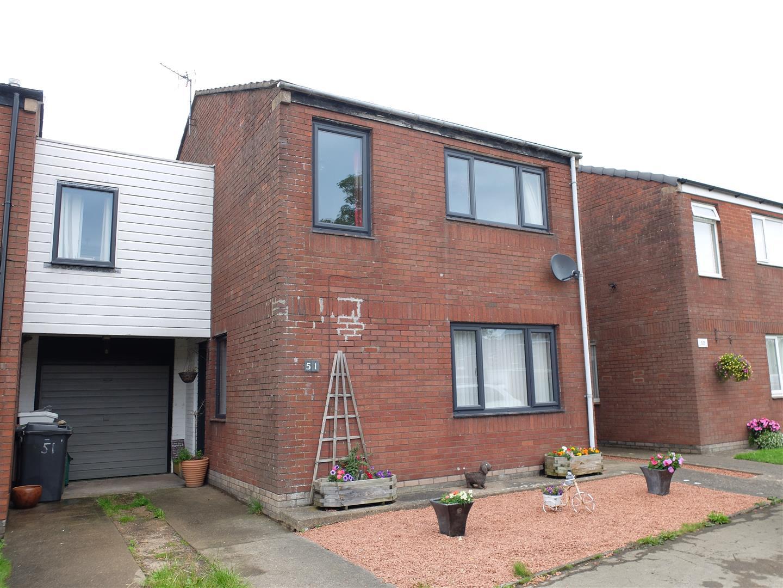 51 Blencarn Park Carlisle 4 Bedrooms House - Link Detached For Sale