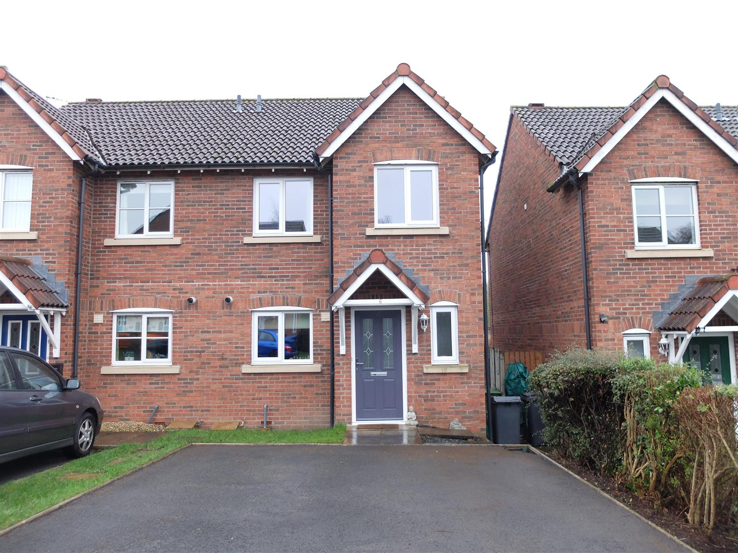 6 Heathfield Close Carlisle 3 Bedrooms House - Semi-Detached For Sale
