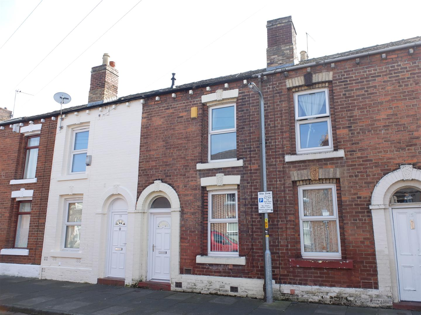17 East Nelson Street Carlisle 2 Bedrooms House - Mid Terrace On Sale 70,000