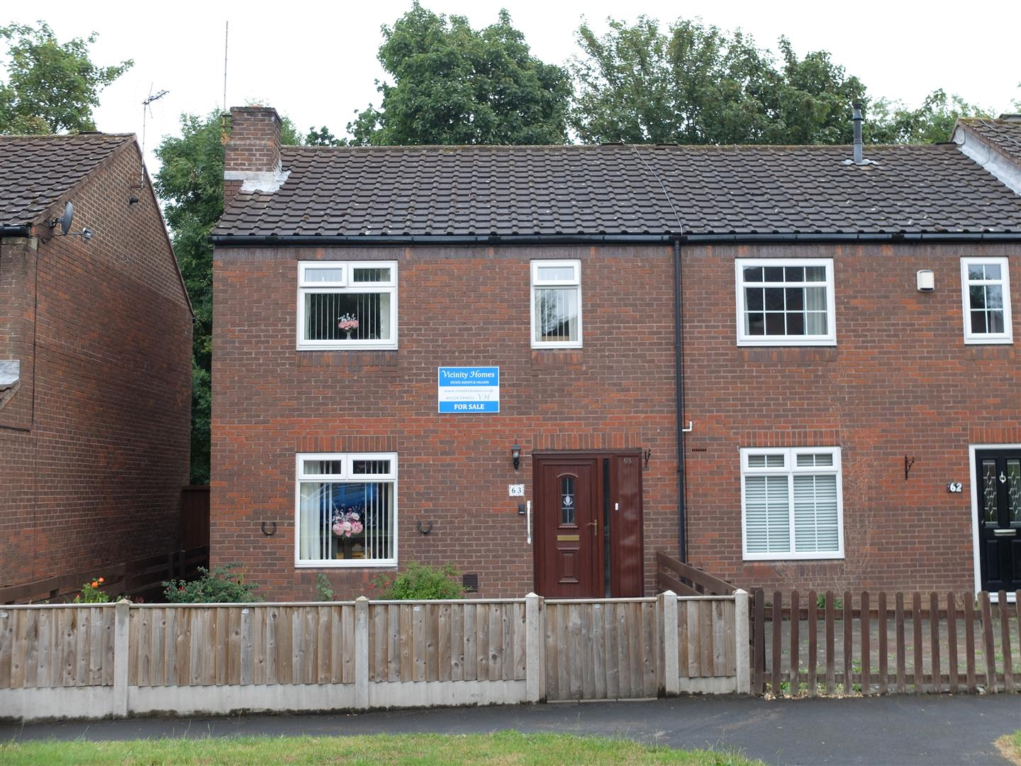 63 Cumrew Close Carlisle 3 Bedrooms House - Semi-Detached For Sale