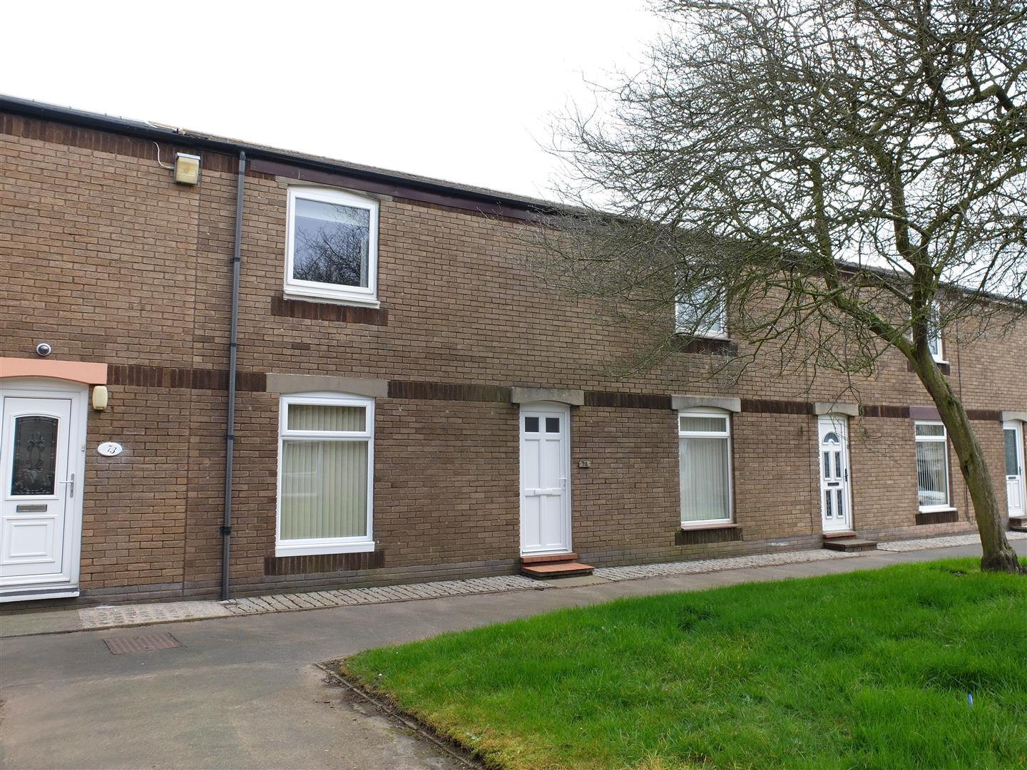 74 Lochinvar Close Carlisle 2 Bedrooms House - Terraced For Sale