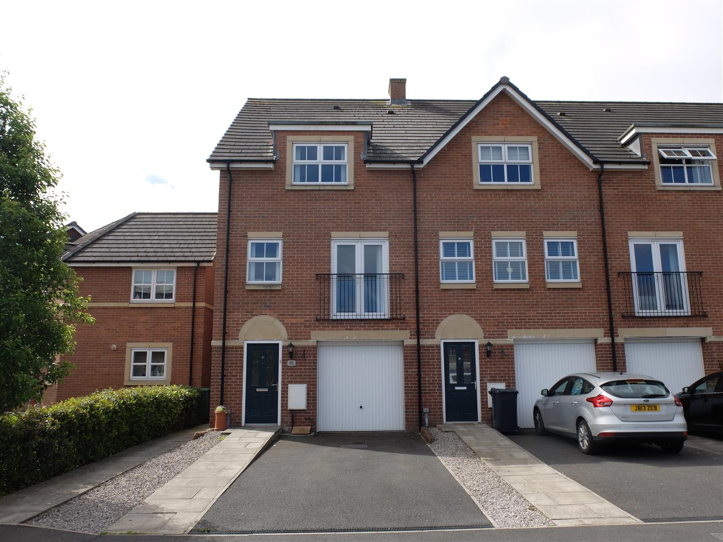 16 Tramside Way Carlisle 4 Bedrooms House - Townhouse For Sale
