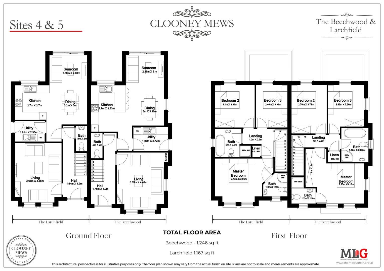 CLOONEY MEWS - The Beechwood - Floor Plan - 4-5.jp
