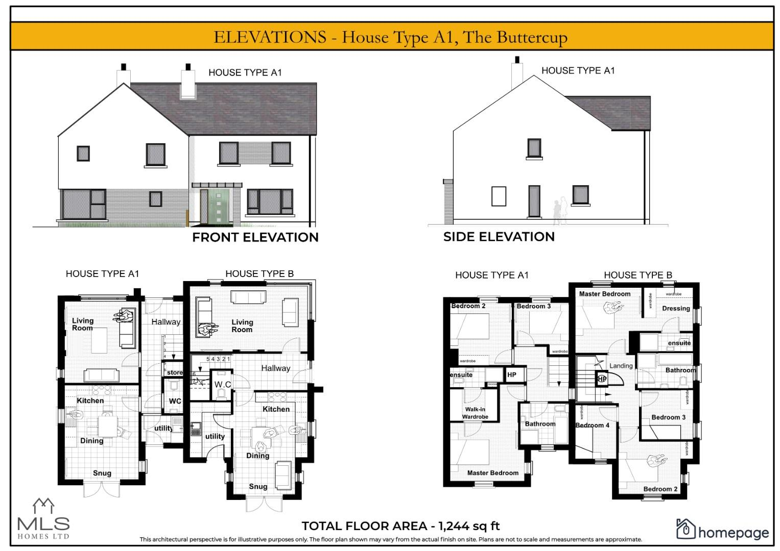Elevations - House Type A1 (2).jpg