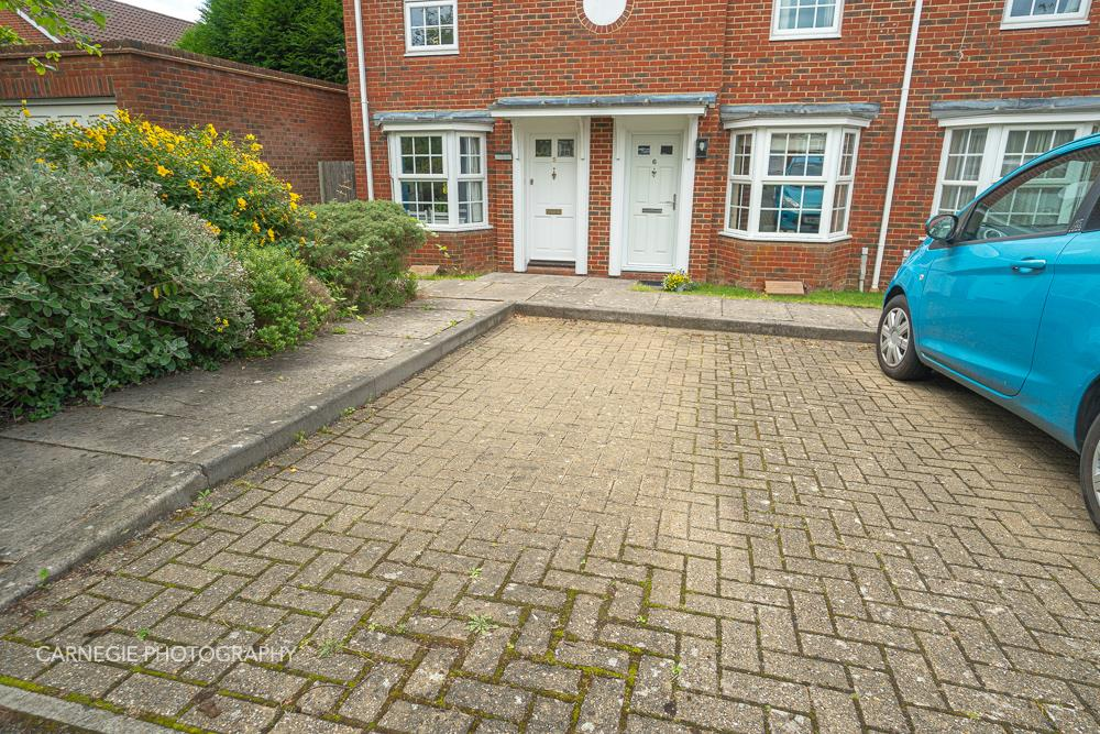 Allocated parking spaces