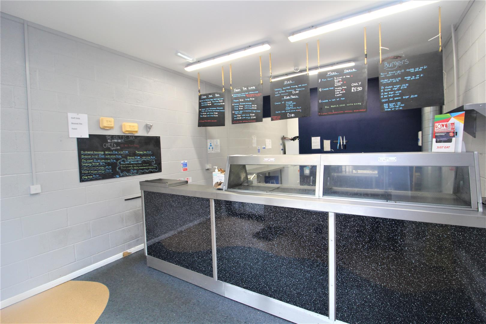 The Celtic Sea Fish And Chip Shop Queensway Wrexham
